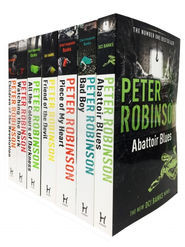 Peter Robinson Chief Inspector Banks Series 7 Books Collection Set - Abattoir Blues, Bad Boy, Piece of My Heart, Friends of the Devil and More by Peter Robinson