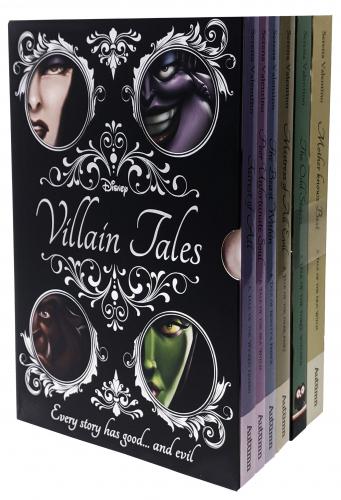 Disney Villain Tales Collection 6 Books Set By Serena Valentino Fairest of All, Poor Unfortunate Soul, Beast Within, Mistress of All Evil by Serena Valentino