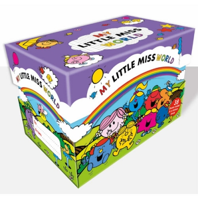 My Little Miss World 38 Books Box Collection Set by Roger Hargreaves
