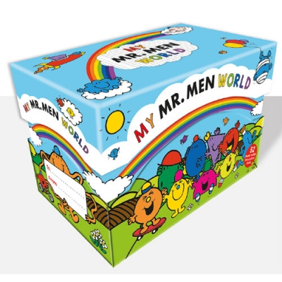 My Mr Men World 52 Books Box Collection Set by Roger Hargreaves