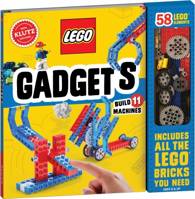 LEGO Gadgets - 58 Lego Elements includes All the Lego bricks you need by Editors of Klutz