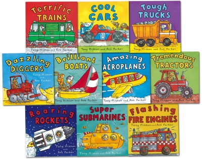 Amazing Machines Truckload Children Collection Tony Mitton 10 Books Set by Tony Mitton, Ant Parker