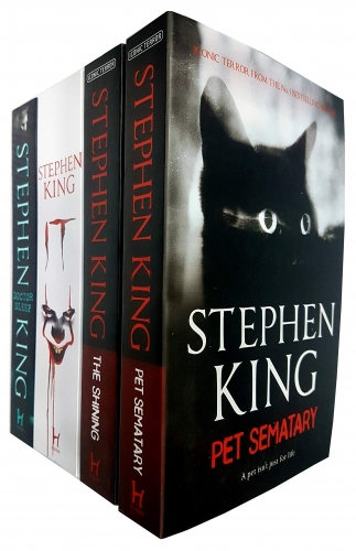 Stephen King Series 4 Books Collection Set Amazon Prime Video Originals - Doctor Sleep - IT - The Shining - Pet Sematary by Stephen King