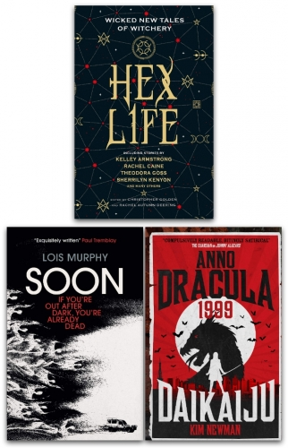 Vampire Horror Fiction 3 Books Collection Set - Anno Dracula 1999, Soon, Hex Life by Kim Newman, Lois Murphy, Rachael Caine