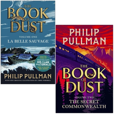 Philip Pullman Book of Dust 2 Books Collection Set - La Belle Sauvage - The Secret Commonwealth by Philip Pullman