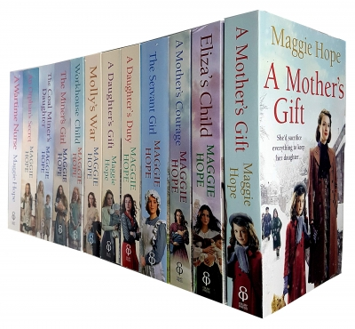 Maggie Hope Collection 12 Books Set - A Mothers Gift, Elizas Child, A Mothers Courage, The Servant Girl, A Daughters Duty, Daughters Gift and More by Maggie Hope