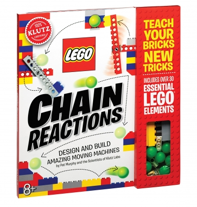 Lego Chain Reactions Activity Book Klutz by Pat Murphy by Pat Murphy