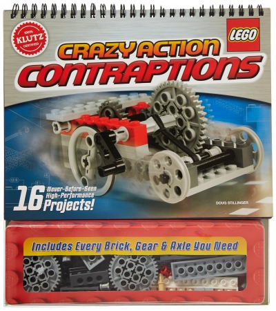 Lego Crazy Action Contraptions Activity Book Klutz 16 projects models to make Lego Books by Doug Stillinger