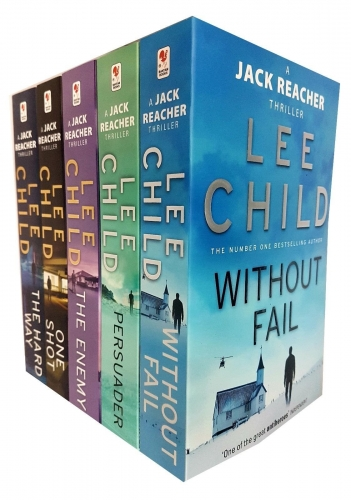 Lee Child Jack Reacher Series 6-10 Collection 5 Books Set - Without Fail, Persuader, One Shot, The Enemy, The Hard Way by Lee Child