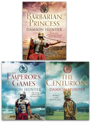Damion Hunter Centurions Trilogy 3 Books Collection Set by Damion Hunter