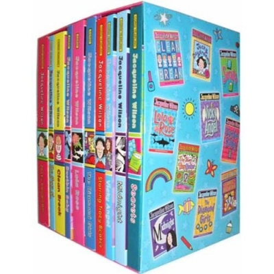 Jacqueline Wilson 10 Books Box Set (secrets, Midnigth, Vicky Angel, Starring Tracy Beaker, The Diamond Girls, Lola Rose, Dustbin Baby, Clean Break, Th