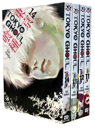 Tokyo Ghoul Volume 11-14 Collection 4 Books Set Series 3 by Sui Ishida