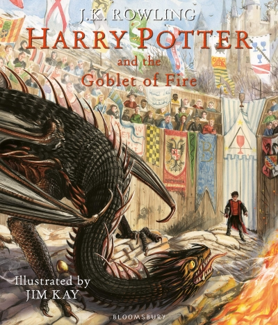 Harry Potter and the Goblet of Fire Illustrated Edition by J.K. Rowling and Jim Kay (Illustrator)
