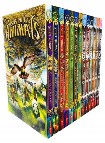 Spirit Animals 13 Books Box Set Series 1 and 2 Collection - Spirit Animals Books 1 - 7 and Fall of the Beasts Books 1 - 6 by Various