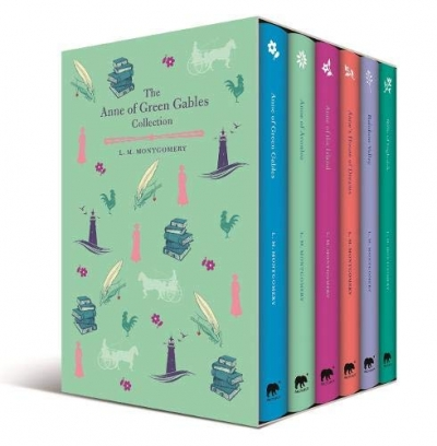 The Anne of Green Gables Collection 6 Books Box Set by L M Montgomery