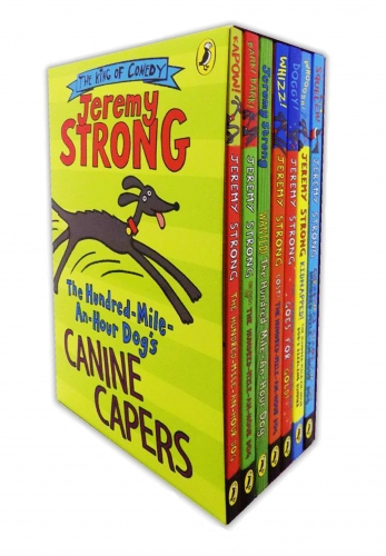 Jeremy Strong The Hundred Mile An Hour Dog Collection 7 Books Set Slipcase Pack by Jeremy Strong