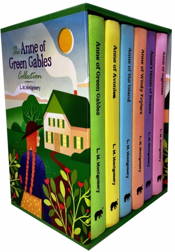 Anne of Green Gables Collection 6 Books Box Set Pack by L M Montgomery by L. M. Montgomery