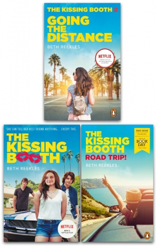 The Kissing Booth Series Collection 3 Books Set By Beth Reekles - Going the Distance, The Kissing Booth, Road Trip WBD 2020 by Beth Reekles