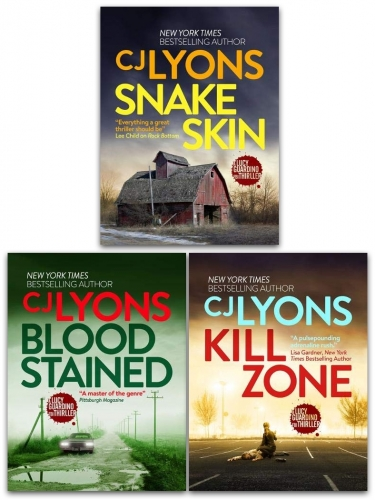 CJ Lyons Lucy Guardian FBI Thrillers 3 Books Collection Set - Kill Zone, Blood Stained, Snake Skin by CJ Lyons