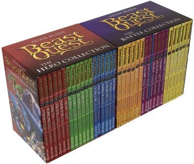 Beast Quest The Hero Collection and The Battle Collection - Series 1-6 - 36 Books Box Set by Adam Blade