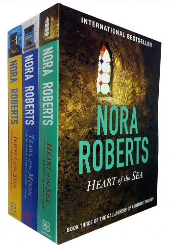 Gallaghers of Ardmore Series Nora Roberts 3 Books Collection Set (Jewels Of The Sun, Tears Of The Moon, Heart Of The Sea) by Nora Roberts