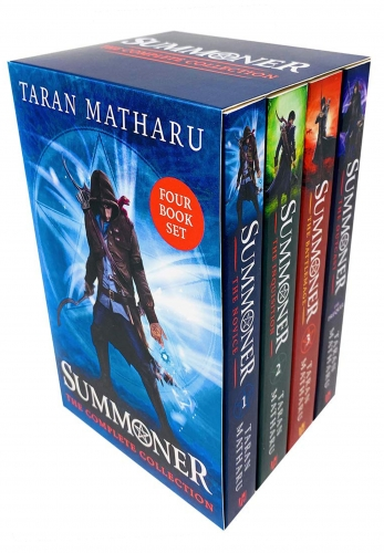 The Summoner 4 Books Box Set Collection By Taran Matharu - The Novice, The Inquisition,The Battlemage, The Outcast by Taran Matharu