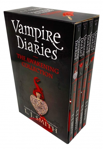 The Vampire Diaries Series 1 Collection 4 Books Box Set By L J Smith - The Awakening, The Struggle, The Fury, The Reunion by L J Smith
