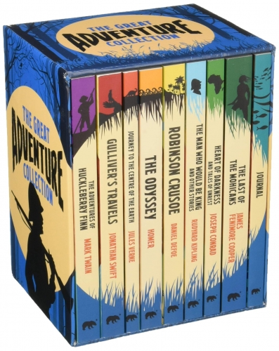 The Great Adventure Collection 8 Books Box Collection Set with a Journal by Various