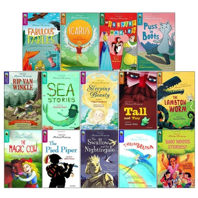 Oxford Reading Tree Greatest Stories Selected by Michael Morpurgo 14 Books Collection Set for Age 7+ by Various