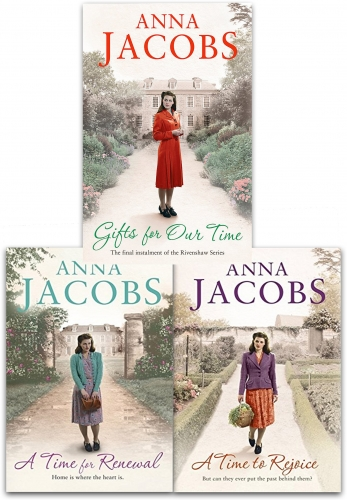 Anna Jacobs Rivenshaw Saga Series Collection 3 Books Set (A Time to Rejoice, A Time for Renewal, Gifts For Our Time) by Anna Jacobs
