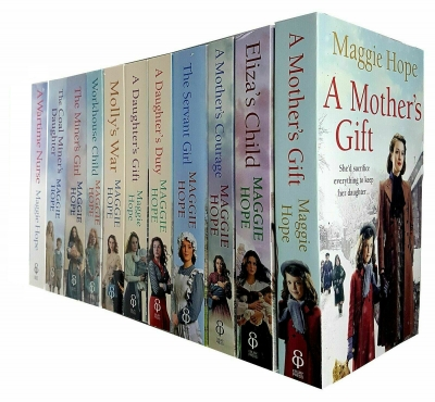 Maggie Hope Collection 11 Books Set - A Mothers Gift, Elizas Child, A Mothers Courage, The Servant Girl, A Daughters Duty, Daughters Gift and More by Maggie Hope