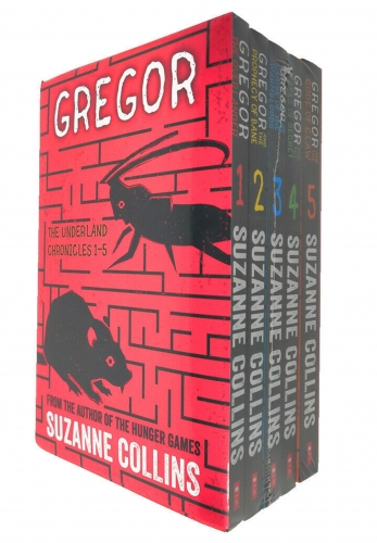Suzanne Collins Gregor Underland Chronicles Collection 5 Books Set by Suzanne Collins