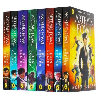 Eoin Colfer Artemis Fowl Series 8 Books Collection Set Brand New Cover by Eoin Colfer