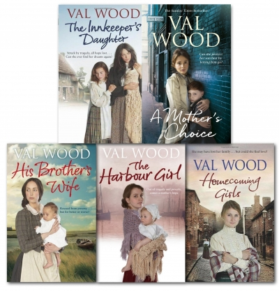 Val Wood Family Sagas 5 Books Collection Set Pack by Val Wood