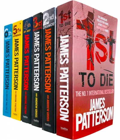 Womens Murder Club 6 Books Collection Set by James Patterson (Books 1 - 6) by James Patterson