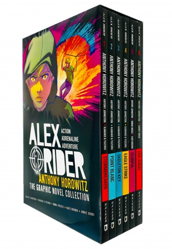 Alex Rider Collection 6 Graphics Books Set By Anthony Horowitz by Anthony Horowitz