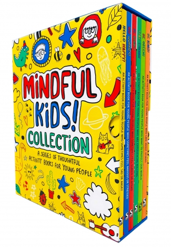Mindful Kids 6 Books Collection Activity Box Set - Hello Happy, No Worries, Be Brave, Stay Strong, Be Green, Be Kind by Dr Sharie Coombes, Stephanie Clarkson, Mandy Archer