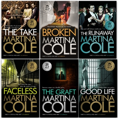 Martina Cole Collection 6 Books Set - Broken, The Runaway, The Good Life, The Take, Faceless, Graft by Martina Cole
