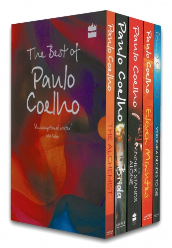 The Best of Paulo Coelho Collection 5 Books Set - Alchemist, Brida, Eleven Minutes, Veronika Decides to Die, The Winner Stands Alone by Paulo Coelho