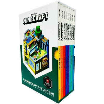 The Official Minecraft Guide Collection 8 Books Box Set By Mojang by Mojang