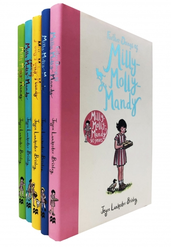 Milly Molly Mandy Stories Collection 5 Books Set By Joyce Lankester Brisley by Joyce Lankester Brisley
