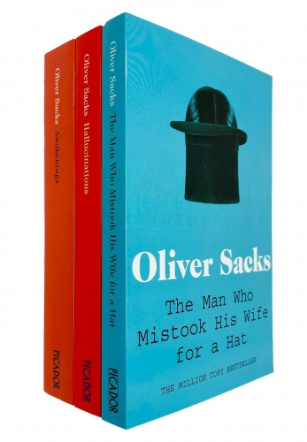 Oliver Sacks 3 Books Collection Set - The Man Who Mistook His Wife for a Hat, Hallucinations, Awakenings by Oliver Sacks