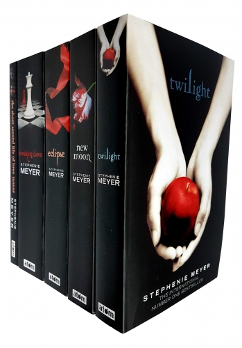 Stephenie Meyer Twilight Saga Collection 5 Books Set - Breaking Dawn, Short Second Life Of Bree Tanner, Eclipse, New Moon, Twilight by Stephenie Meyer