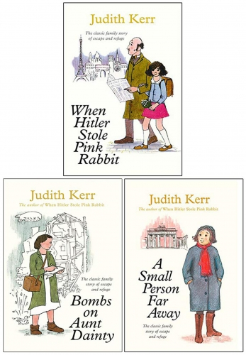 Judith Kerr Collection 3 Books Set - When Hitler Stole Pink Rabbit, Bombs on Aunt Dainty, A Small Person Far Away by Judith Kerr