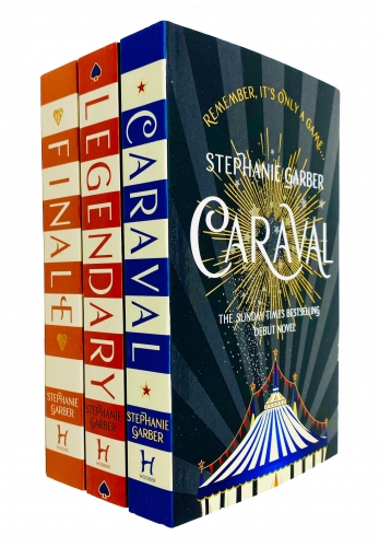 Caraval Series 3 Books Collection Set By Stephanie Garber - Caraval, Legendary, Finale by Stephanie Garber