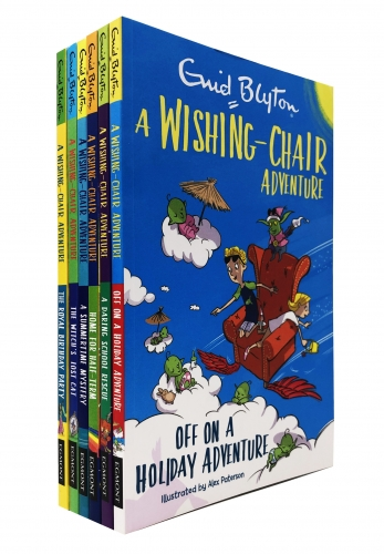 Enid Blyton The Wishing Chair Adventure 6 Books Collection Set by Enid Blyton
