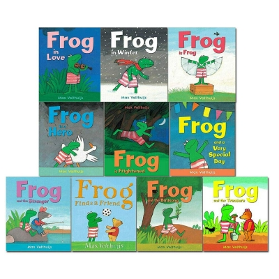 Frog Series 10 Books Collection Set by Max Velthuijs by Max Velthuijs