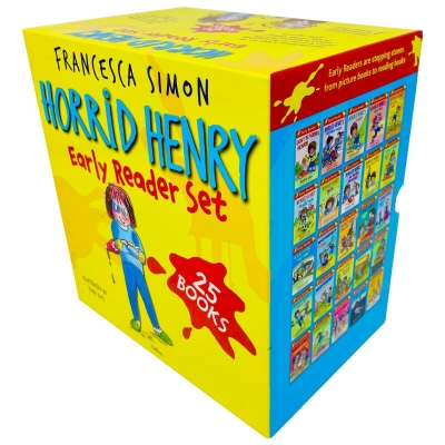 Horrid Henry Early Reader Set 25 Books Collection Box Set by Francesca Simon by Francesca Simon