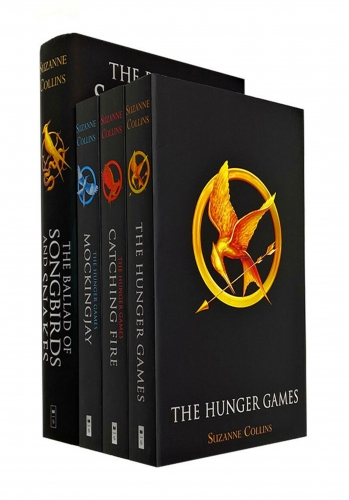 Suzanne Collins Hunger Games Collection 4 Books Set - The Hunger Games, Catching Fire, Mockingjay, The Ballad of Songbirds and Snakes by Suzanne Collins