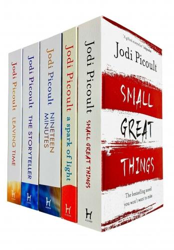 Jodi Picoult 5 Books Collection Set - Small Great Things, A Spark of Light, The Storyteller, Leaving Time, Nineteen Minutes by Jodi Picoult